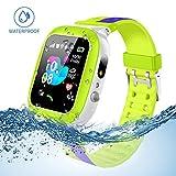 Kids Smartwatch Waterproof with LBS/GPS Tracker Smart Watch Phone 3-12 SOS Camera