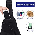 SlowTon Pet Carrier, Dog Cat Hand Free Waterpoof Sling Carrier Shoulder Bag Adjustable Strap Tote Bag with Front Pocket Safety Belt Outdoor Travel Puppy Carrier for Daily Use 11