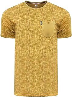 Lambretta Mens Paisley AOP Cotton T-Shirt