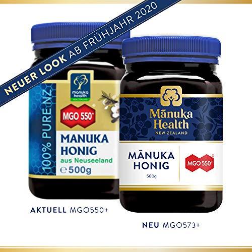 Manuka Health actieve Manuka-honing MGO 550+, per stuk verpakt (1 x 500 g)