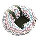 BEAUTPINE Siège de Soutien pour bébé Adorable Chaise Assise pour Chambre d\'enfant Coussin Doux de Voiture, N°4, 43x43x20cm