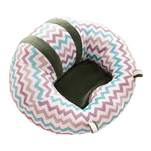 BEAUTPINE Baby-Sitzkissen, Sitzkissen, weich, fürs Auto, Sofa, Größe 43 x 43 x 20 cm (4#)