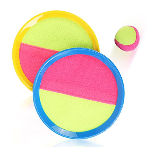 liberty imports kids games Liberty Imports Classic Toss & Catch Sports Game Set for Kids with Bean Bag Ball