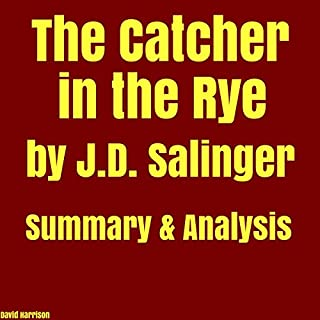 The Catcher in the Rye by J.D. Salinger - Summary & Analysis audiobook cover art
