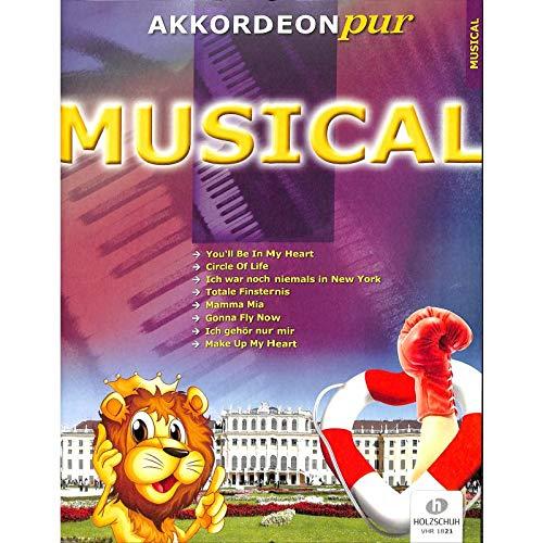 Musical Akkordeon pur - Noten/Spezialarrangements im mittleren Schwierigkeitsgrad von Hans-Günther Kölz - [Noten/Sheetmusic] - mit bunter herzförmiger Notenklammer