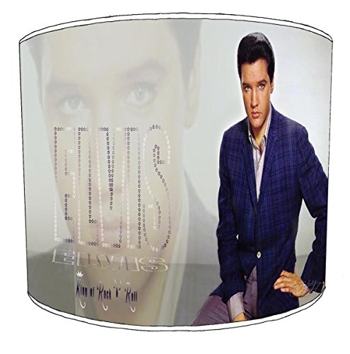 Premier Lighting Ltd 12 inch Elvis Presley Drum Abat-jour8 pour Une Lampe de Table