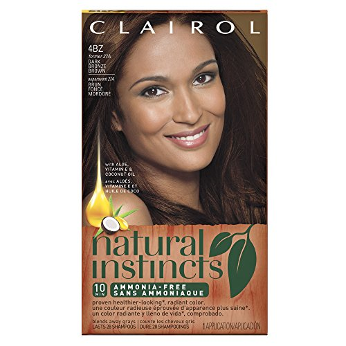 Clairol Natural Instincts 27A, Double Espresso, Dark Bronze Brown 1 Kit (packaging may vary)