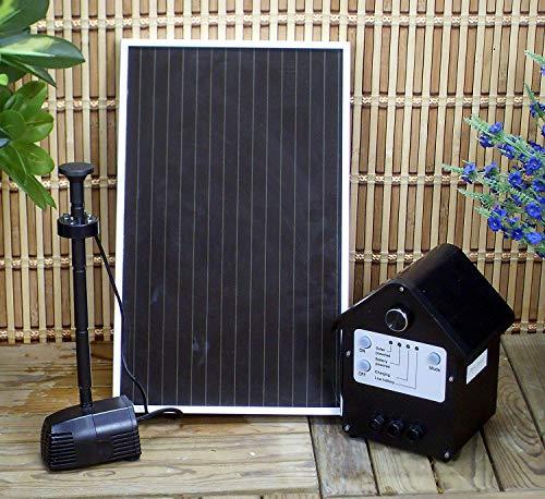 Wehmann Poweraccu Solar-Springbrunnenpumpe mit Beleuchtung und Memory-Funktion !!!