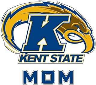 CollegeFanGear Kent State Mom Decal 'Kent State Flash w/K and Flash'