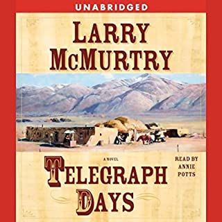 Telegraph Days audiobook cover art
