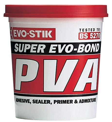 1 Litre Evo-Stik Waterproof PVA building glue primer sealer waterproofer admixture 123601
