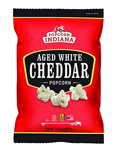 Read About Popcorn Indiana P.I. Aged Wht Ched Popcorn 5.75 Oz (Pack Of 12)