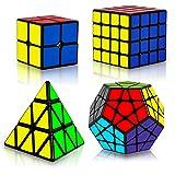 Speed Cube Set, Puzzle Cube, Magic Cube 2x2 4x4 Pyraminx...