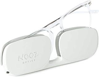 Nooz Optics - Occhiali Luce Blu senza correzione Uomo e donna per Computer, Smartphone, Gaming o Televisione - Forma Quadr...
