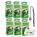 Fujifilm QuickSnap Flash 400 Disposable 35mm Camera 6 Pack Bonus Hand Strap Quality Photo Microfiber Cloth
