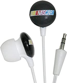 iHip RCF10265BK NASCAR Mini Ear Buds, Black