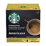 Starbucks Coffee by Nescafe Dolce Gusto, Starbucks Veranda Blend Americano, Coffee Pods, 12 capsules, Pack of 3
