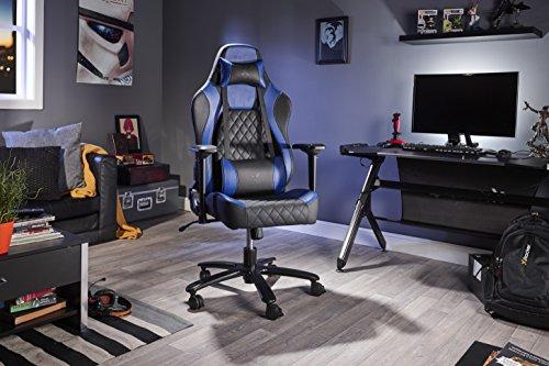 X-Rocker 0700301 Delta Pro Serie IV - Silla de Oficina, Color Azul