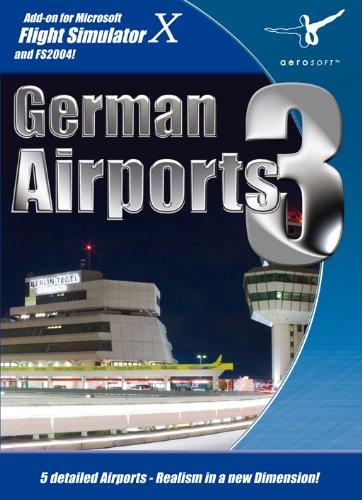 Flight Simulator X und 2004 - German Airports 3 [UK Import]