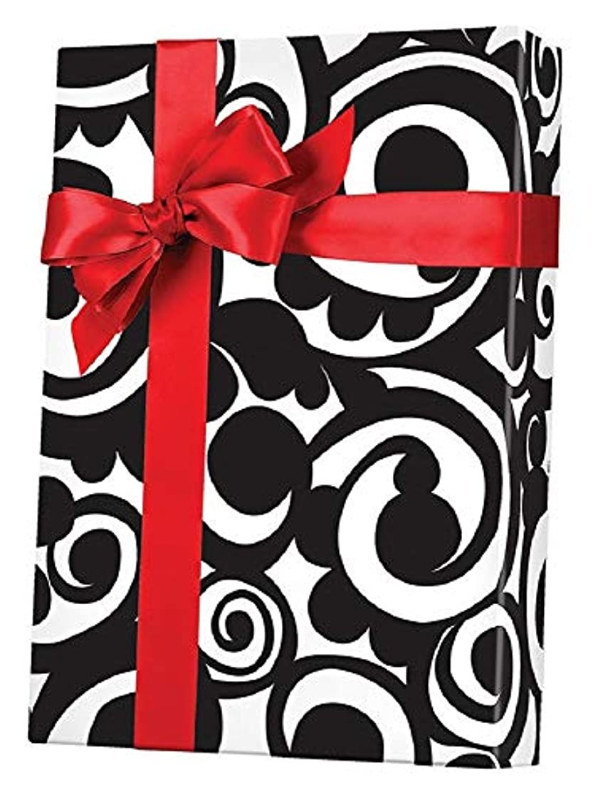 Filigree Scrolls Gift Wrapping Paper Roll - 24