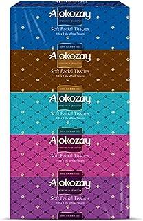Alokozay Soft Facial Tissues, 200 Sheets x 2 Ply White Tissues, Pack of 30 Boxes