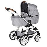 Passeggino e Navicella Condor 4 ABC Design 2020 - Il passeggino combinato flessibile che cresce con il vostro bambino (graphite grey)