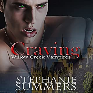 Craving     Willow Creek Vampires, Book 1              By:                                                                                                                                 Stephanie Summers                               Narrated by:                                                                                                                                 Joel Froomkin                      Length: 5 hrs and 59 mins     293 ratings     Overall 4.2