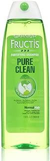 Garnier Fructis Shampoo Pure Clean 13 Ounce (Normal Hair) (384ml) (2 Pack)