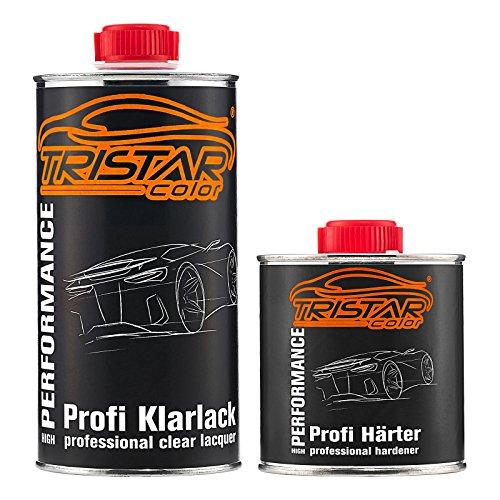 TRISTARcolor 0,75 Liter 2K Klarlack Autolack matt incl. Härter