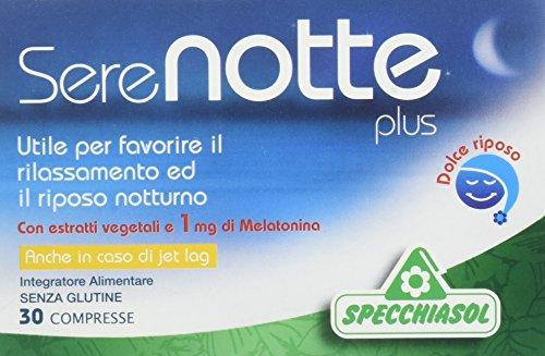 Specchiasol Serenotte Plus, 30 Compresse