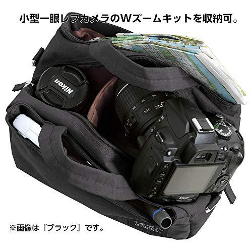 HAKUBAカメラバッグプラスシェルクラーヴォネオショルダーバッグM小型一眼レフ用ネイビーSP-CVN-SBMNV