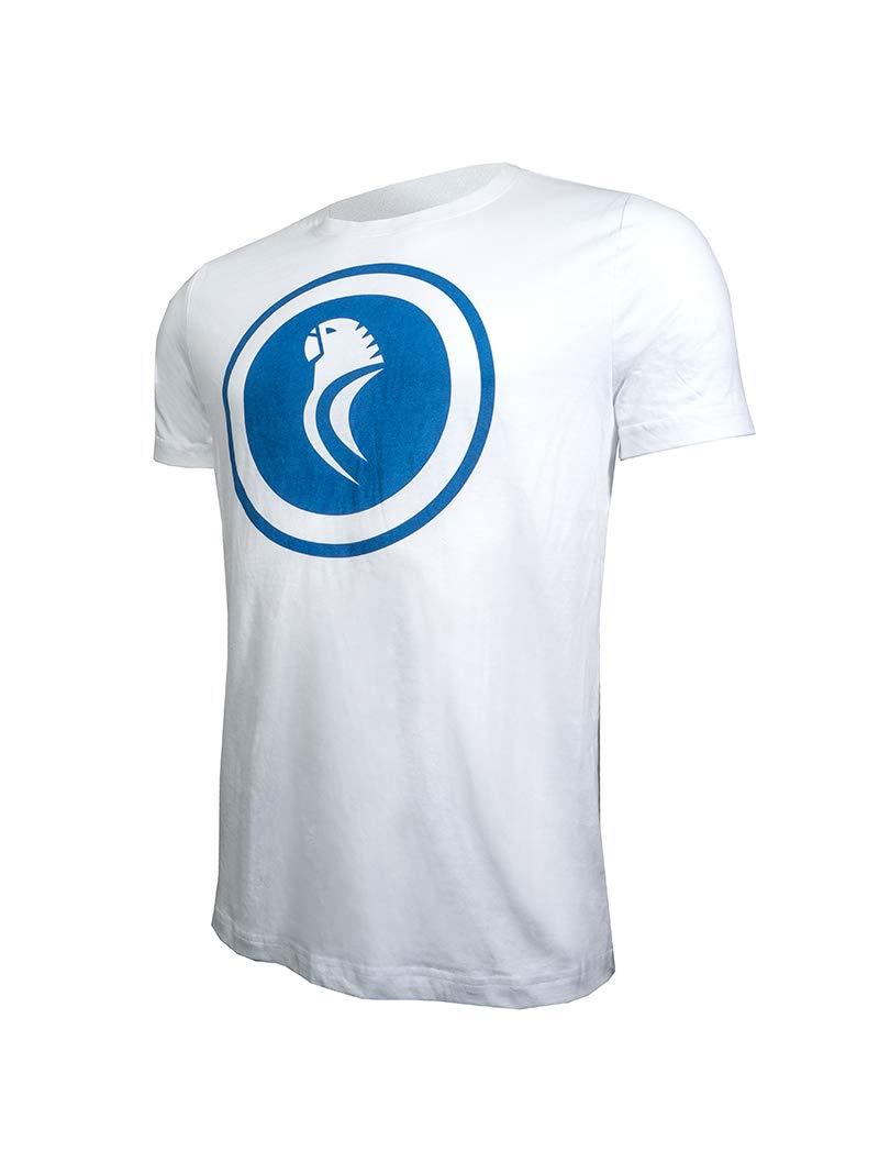 RCD Espanyol Camiseta Casual Mod. Blanca PERICO (S): Amazon.es ...