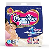 MamyPoko Pants Extra Absorb Diaper, Large (Pack of 64) aio cloth diapers Apr, 2021