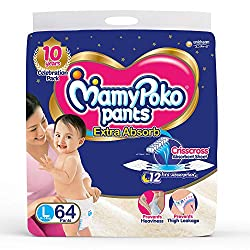 Mamy Poko Pant is one of the reliable brands that manufacture high-quality diapers.It is best baby diapers in india.