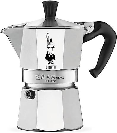 Bialetti Express Moka Pot, 6 -Cup
