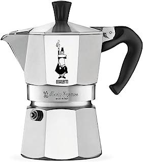 Bialetti 0001162 Cafetière Italienne, Aluminium, Argent, 3 Tasses (Non compatible avec l'induction)