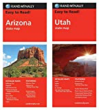 Rand McNally State Maps: Arizona and Utah (2 Maps)