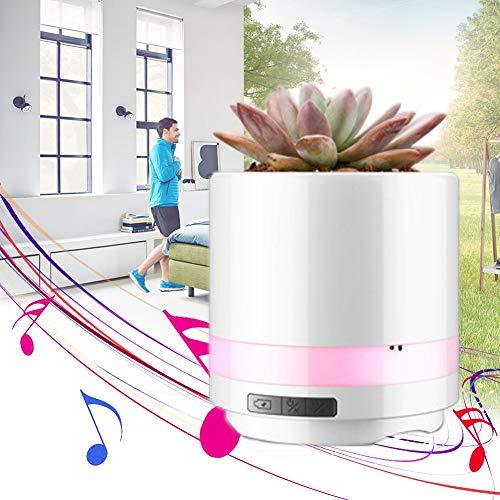 Duschkopf Wireless Bluetooth Musik-Flowerpot Bluetooth-Lautsprecher Music Blumentopf Mit Wiederverwendbarem Für Wohnheim Babyzimmer