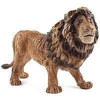 獣の像ライオン屋外庭園像家の装飾動物の彫刻コレクション動物(色:B)