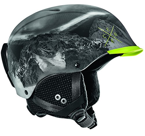 Cébé Contest Visor Pro Skihelm, Lime Mountain, 56-58 cm