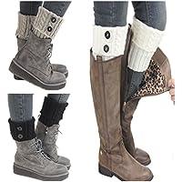 Calcetines de lana para el interior de las botas de Santwo, 3 pares, ideales para invierno Modelo 1 Talla única
