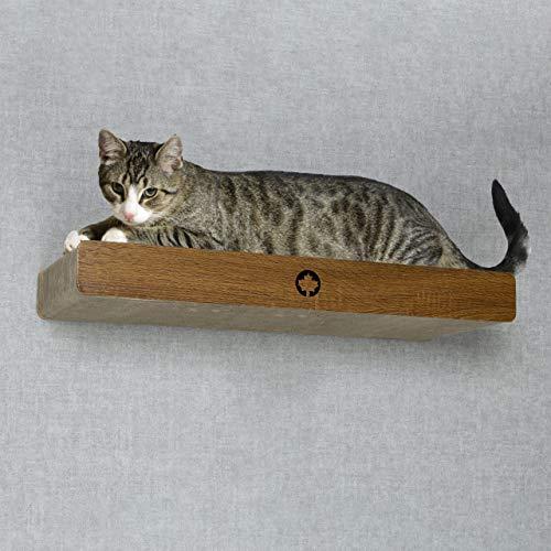 CanadianCat Company ® | Wand - Kratzbrett | Catwalk für Katzen ca. 70 x 30 x 8 cm zum montieren Kratzpappe XXL