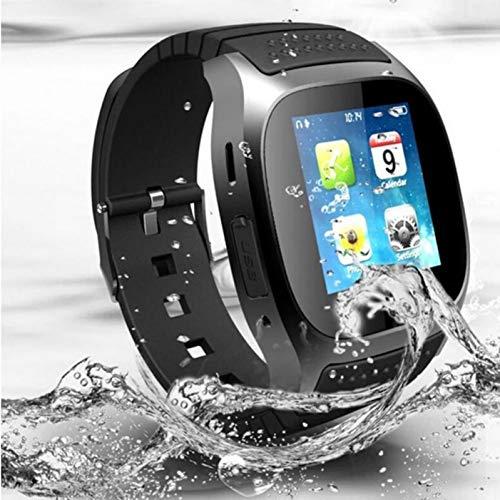 FRWPE Bluetooth Smart Horloge Met Wijzerplaat SMS Herinneren Stappenteller voor Android Samsung telefoon