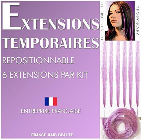 Inconnu 6 Extensions Lilas Fixation A Froid- Bijoux DE Cheveux ET Accessoires Cheveux. Boutique France Hair Beaute Copier/Coller ce Lien : https://www.Amazon.FR/s?ie=UTF8&me=AS43L7ZQKLNBO&Page=1