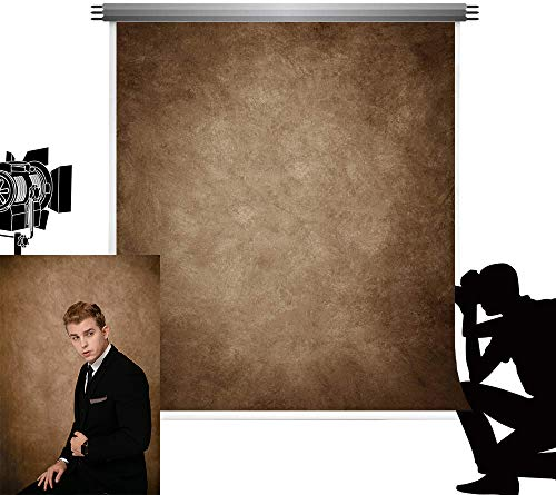 Kate Photography Sfondo 1,5x2,2m Marrone scuro Texture Sfondo fotografico Sfondo pieghevole Photo Booth Studio fotografico professionale Semplice Arazzo decorativo retrò