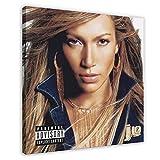 Jennifer Lopez J. Lo Albumposter Cover Leinwand Poster