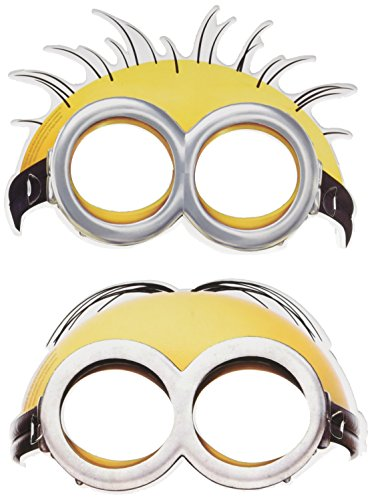 amscan Minions Gesichtsmasken 6 Pro Packung