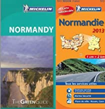 Michelin Green Guide Pack Normandy in English plus map by Michelin Staff (2013-04-30)