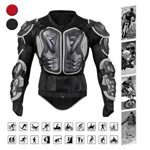YILIFA Motos Armor Snowboarden Motocicleta Skiën Body Armor Shirt Jacket PVC EVA Terug Schouderbeschermer Gear