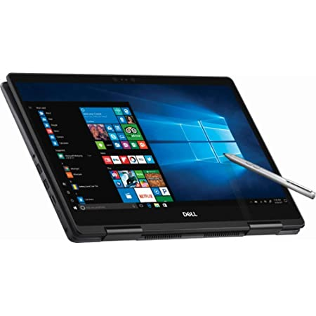 "Dell - 2-in-1 15.6"" 4K Ultra HD Touch-Screen Laptop - Intel Core i7 - 16GB Memory - NVIDIA GeForce MX130 - 256GB SSD - Abyss Black"